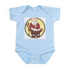 Santa & Baby Jesus Infant Bodysuit