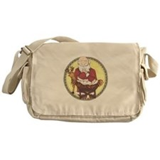 Santa & Baby Jesus Messenger Bag