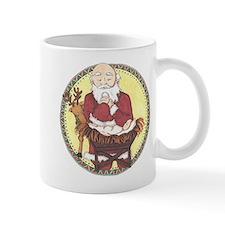 Santa & Baby Jesus Mug