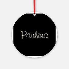 Paulina Spark Ornament (Round)