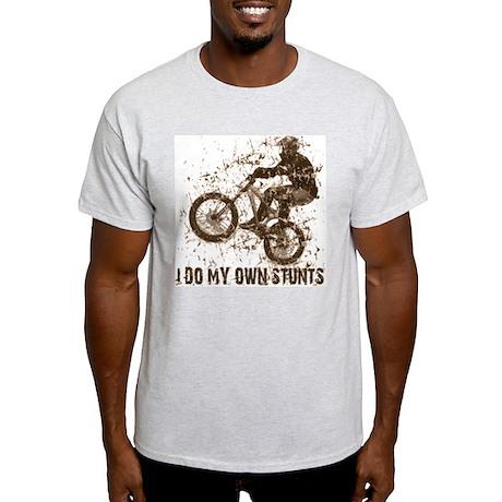Mountain Bike - Stunts Ash Grey T-Shirt