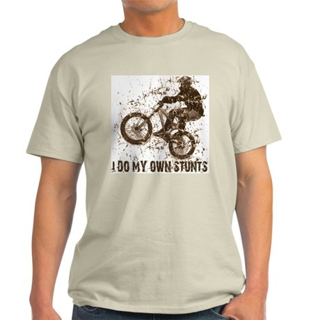 Mountain Bike - Stunts Ash Grey T-Shirt