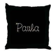 Paula Spark Throw Pillow