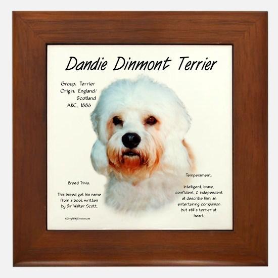 Dandie Dinmont Framed Tile