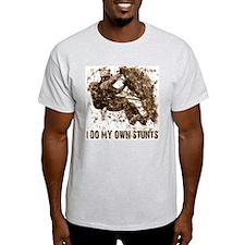Rock Climbing - Stunts Ash Grey T-Shirt