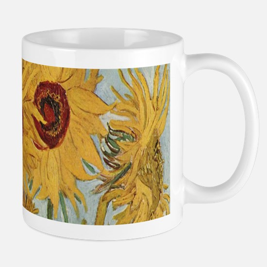 Van Gogh Sunflowers Wraparound Mug