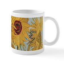Van Gogh Sunflowers Wraparound Small Mugs