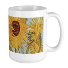 Van Gogh Sunflowers Wraparound Coffee Mug