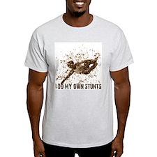 Rollerblading, SK8 Stunts Ash Grey T-Shirt