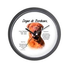 Dogue de Bordeaux Wall Clock