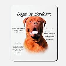 Dogue de Bordeaux Mousepad
