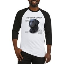 Curly-Coated Retriever Baseball Jersey