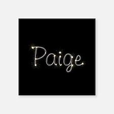 "Paige Spark Square Sticker 3"" x 3"""