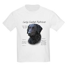 Curly-Coated Retriever Kids T-Shirt