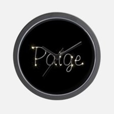 Paige Spark Wall Clock
