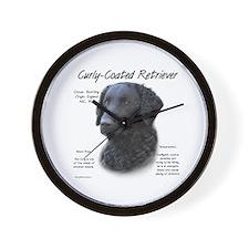 Curly-Coated Retriever Wall Clock