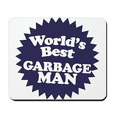 Worlds best Garbage Man Mousepad