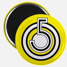 """5 """"Go"""" Magnet"""