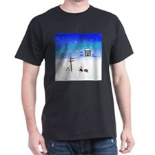 Peguins at the North Pole T-Shirt