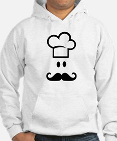Cook chef hat face Hoodie