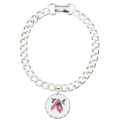 Hummingbird Charm Bracelet, One Charm