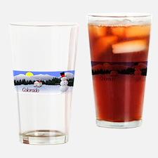 Winter Wonderland - Colorado Drinking Glass