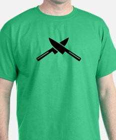 Crossed knives T-Shirt