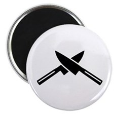 Crossed knives Magnet