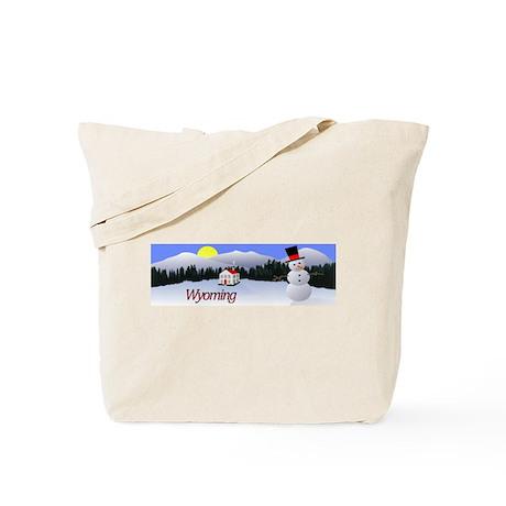 Winter Wonderland - Wyoming Tote Bag