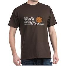 Raisin cookies trust issues T-Shirt