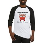 Ride The Fireman Baseball Jersey