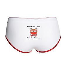 Ride The Fireman Women's Boy Brief