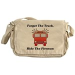 Ride The Fireman Messenger Bag