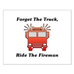 Ride The Fireman Small Poster
