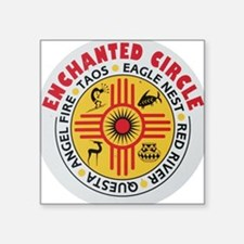 New Mexico's Enchanted Circle Rectangle Sticker