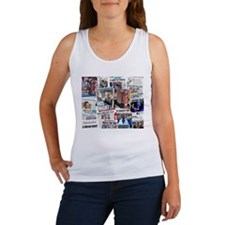 Obama Nominated: Newspaper Women's Tank Top
