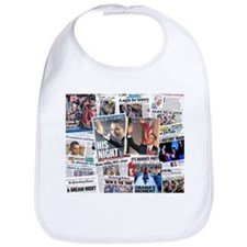 Obama Nominated: Newspaper Bib