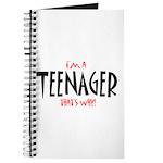 I'm a Teenager Journal