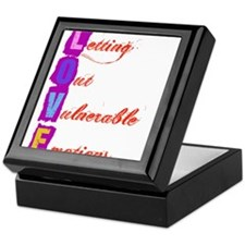 Letting Out Vulnerable Emotions Keepsake Box