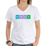 Genius Women's V-Neck T-Shirt