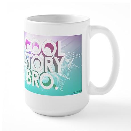 cool story bro Large Mug