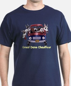 Dane Chauffeur Black T-Shirt