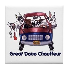 Dane Chauffeur Tile Coaster