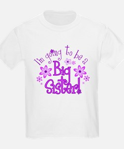 I'm going to be a Big Sister Kids T-Shirt T-Shirt