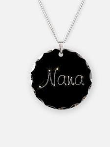 Nana Spark Necklace Circle Charm