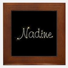 Nadine Spark Framed Tile