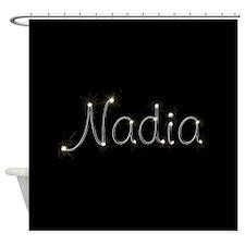 Nadia Spark Shower Curtain