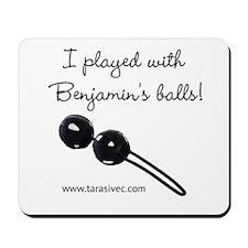 Benjamins Balls Mousepad
