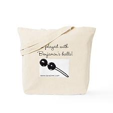 Benjamins Balls Tote Bag