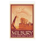Milbury Postcards (Package of 8)